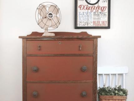 How to Paint a Farmhouse Dresser