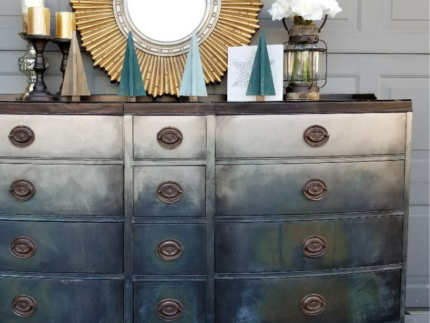How to Makeover with Metallic