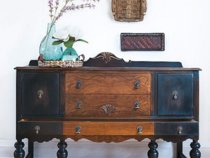 How to Paint and Stain a Buffet