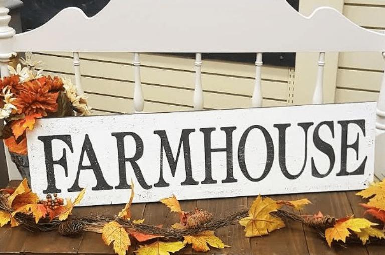 Create a Chippy Farmhouse Look