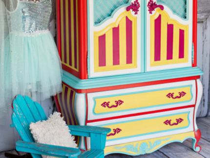 How to Create a Circus Armoire