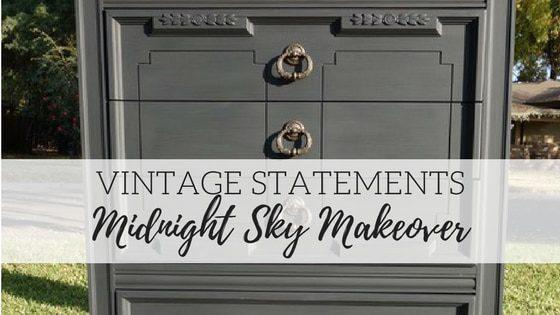 Vintage Statements – Midnight Sky Makeover