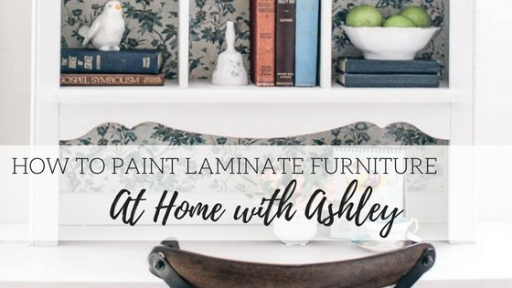 How to Paint Laminate Furniture – At Home with Ashley