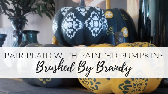 Painting in Plaid – Brushed By Brandy