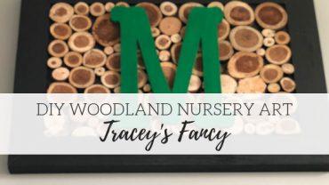 DIY Woodland Nursery Art – Tracey's Fancy