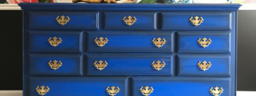 How to Paint a Cobalt Dresser – Tracey's Fancy