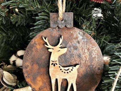 How to Create Patina Ornaments – ArtsyVaVa