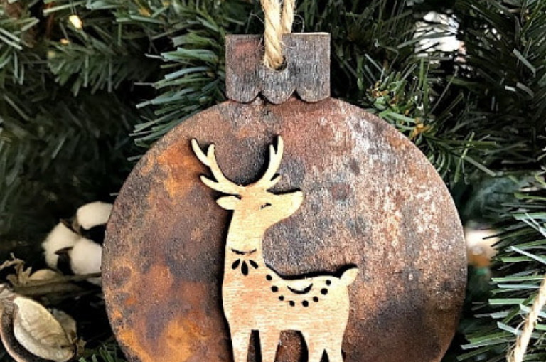 How to Create Patina Ornaments
