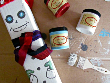How to Create DIY Snowman Blocks