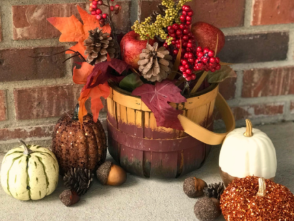 How to Make a Fall Centerpiece