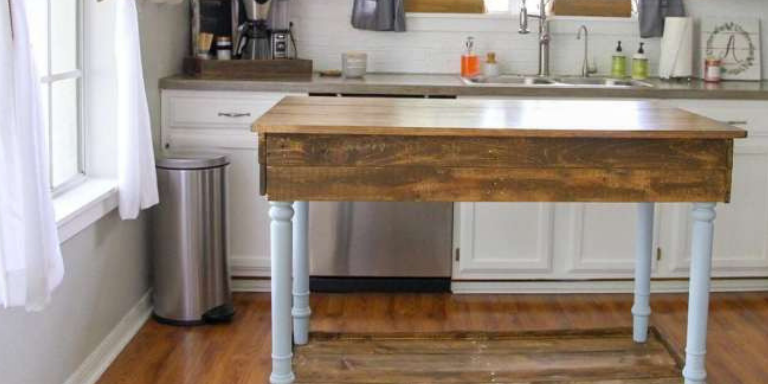 How to Create a DIY Kitchen Island – Simply Today Life