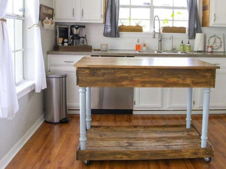 How To Create A Diy Kitchen Island Dixie Belle Paint Company