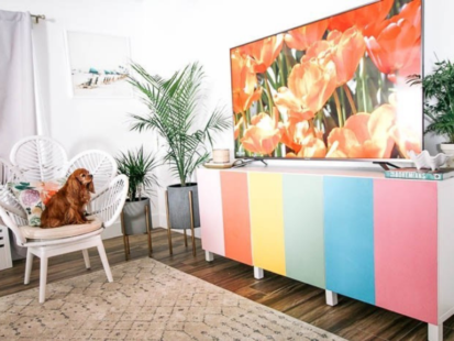 How to Create a Colorful Cabinet – At Home with Ashley