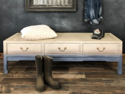 How to Create Faded Denim Furniture