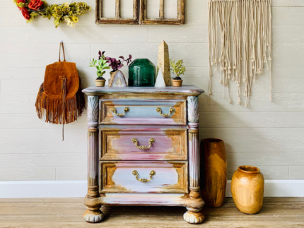 How to Create a Patina Bohemian Chest