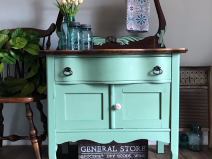 How to Update a Washstand