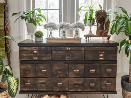 How to Create an Apothecary Cabinet