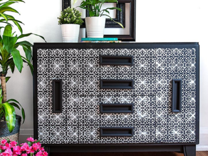 How to Use Furniture Stencils