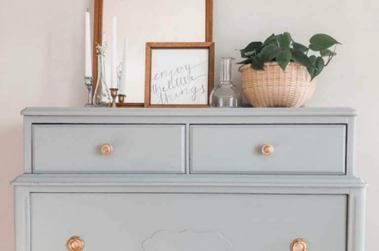 How to Update a Vintage Dresser