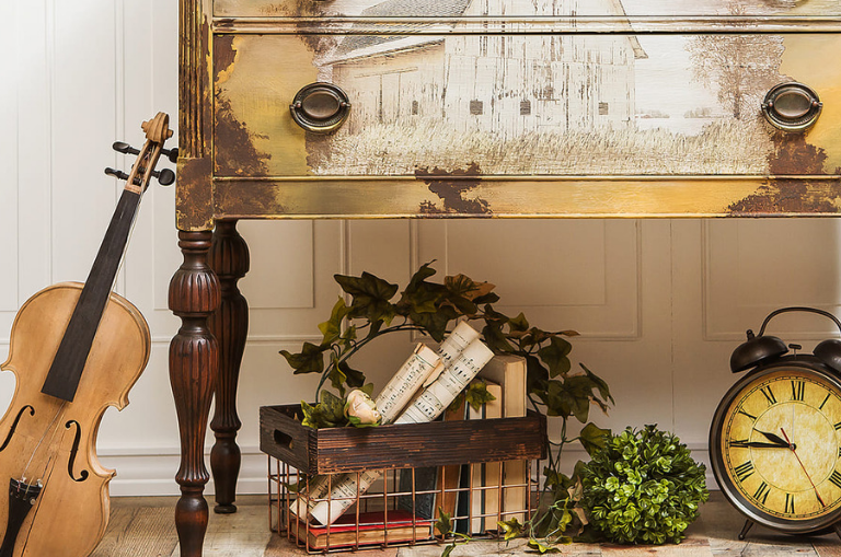 How to Create Country Chic Pieces