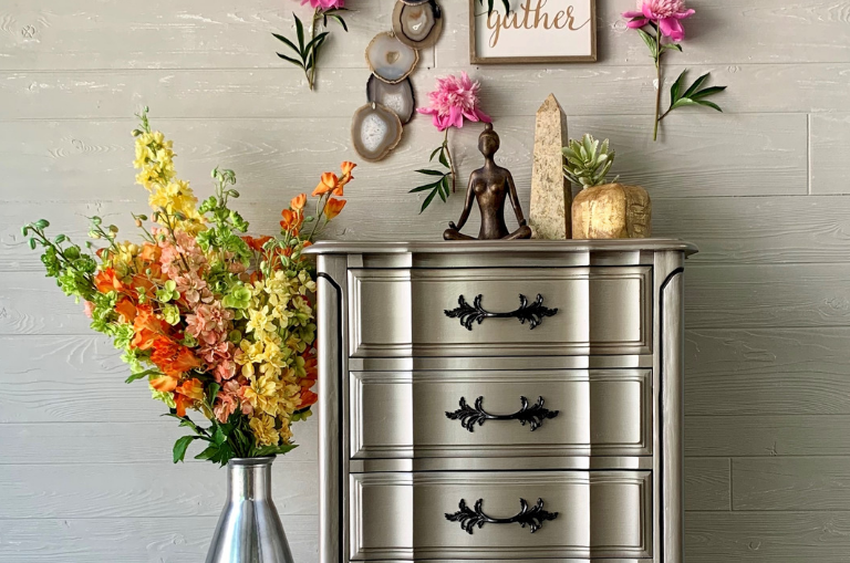 How to Use New Metallic Paint