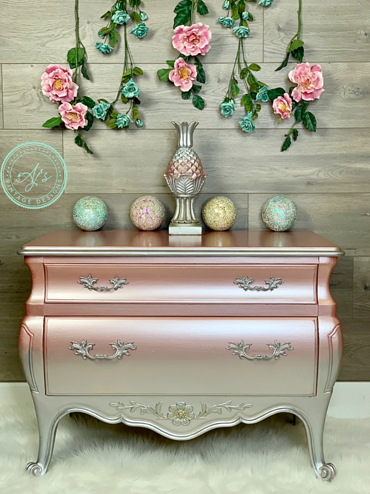 Rose Gold Spray Paint Furniture