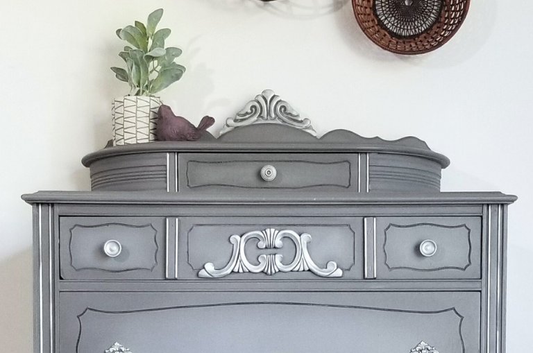 How to Paint an Antique Tallboy