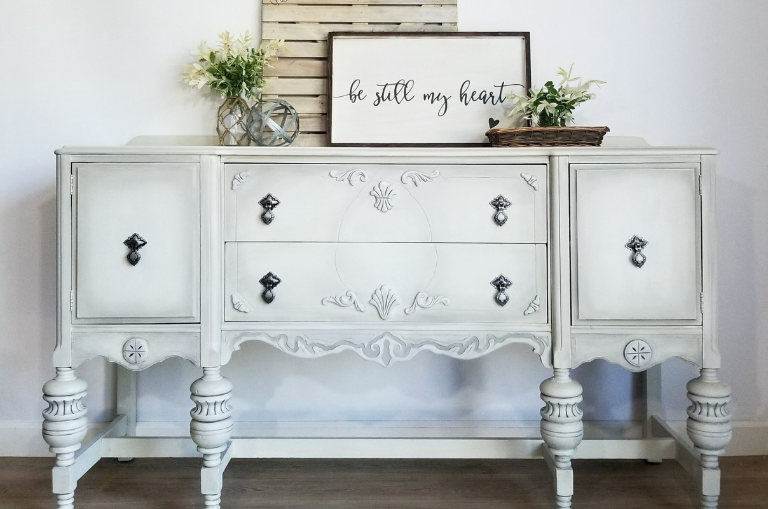 How to Paint with Drop Cloth