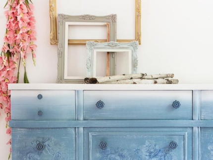 How to Paint with Dusty Blue