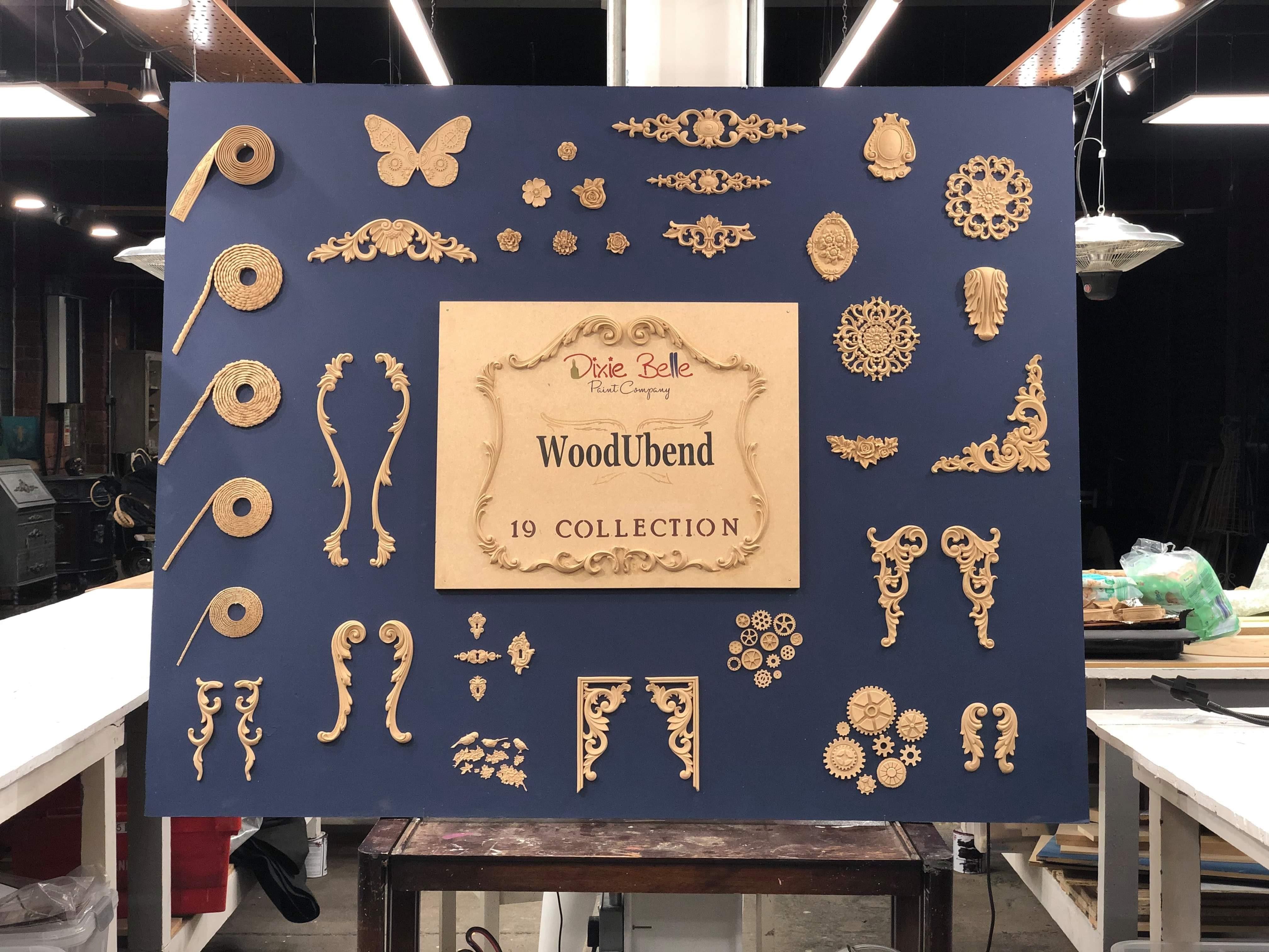 wood u bend mouldings
