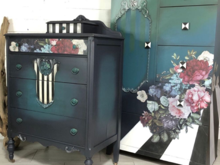 How to Paint Pop Art Furniture