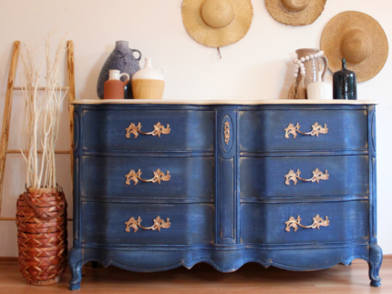 How to Create a Faux Denim Finish
