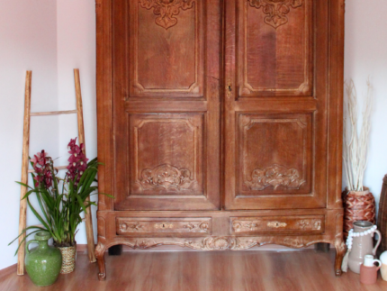 How to Update an Antique Wardrobe