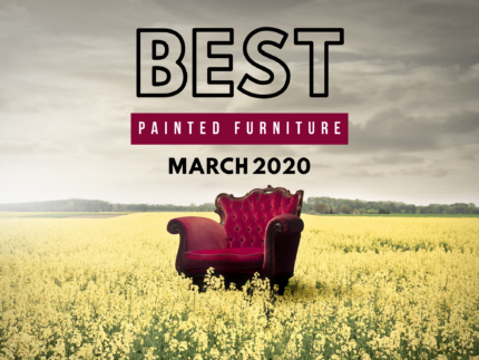 Best Painted Furniture – March
