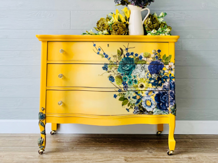 How to Paint with Yellow