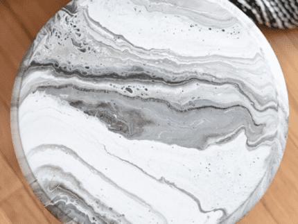 Create a Marble Paint Pour