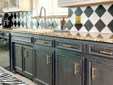Paint a Kitchen Backsplash