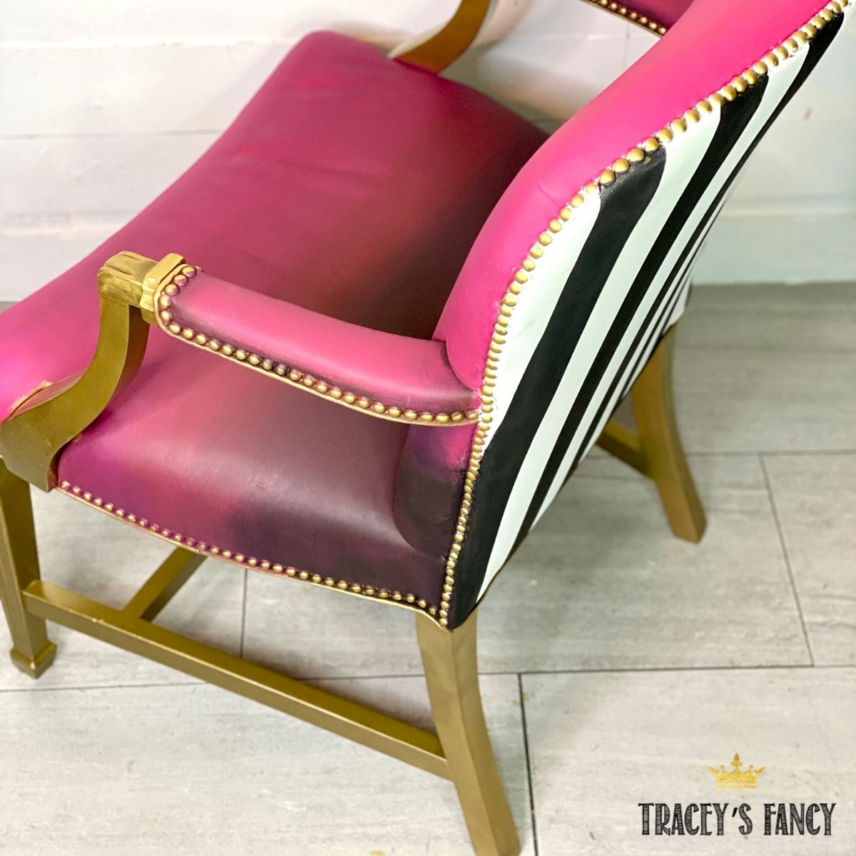 pink-leather-painted-chair