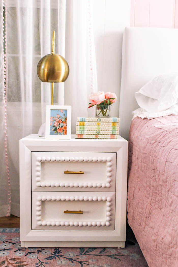 white-wood-bead-nightstand