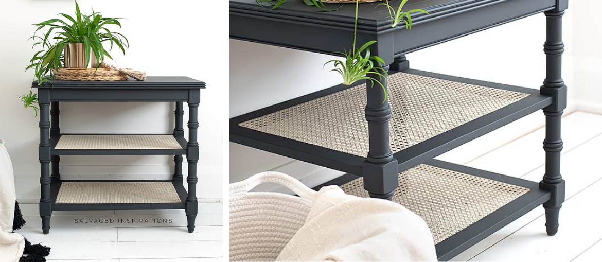 How to Paint Cane Webbing Furniture
