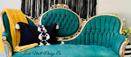 How to Paint an Upholstered Sofa