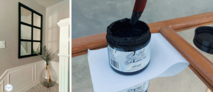 How to Easily Paint a Mirror